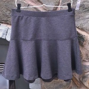Old Navy Charcoal Gray Mini Skirt